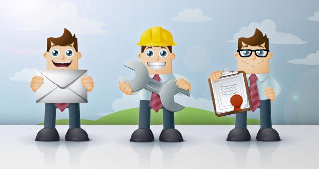 003 business man cartoon vector character 1