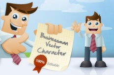 003 business man vector characters m 1