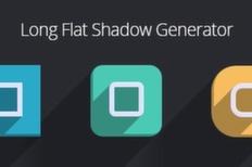 015 long flat shadow generator psd m 1