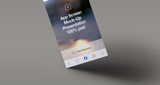 017 app screen mock up presentation psd 1