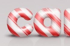 020 psd candy cane text effect m 1