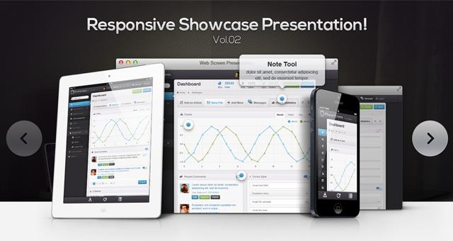 023 responsive showcase presentation slider psd vol2 1