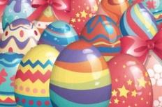 027 vector easter eggs set m