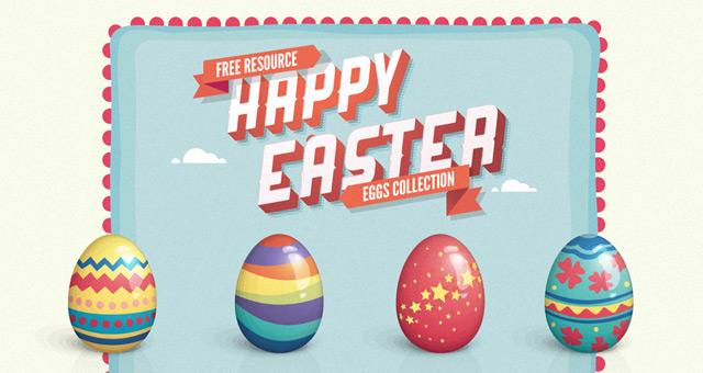027 vector easter eggs